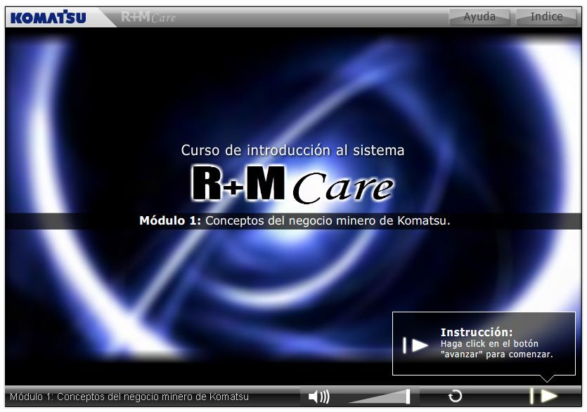 Curso R+M Care – Komatsu Chile